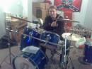 и эт мя за барабанами