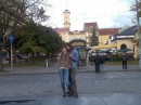 Площадь Мицкевича, вид на ратушу.