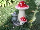 Во какие грибы вымахали!