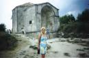 Мавзолей крымской правительницы в Чуфут-Кале.