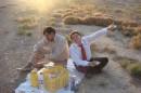 Несмотря на Рамадан, пикничек в полупустыне удался...