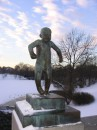 парк скульптур Вигеланна