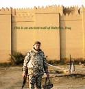 Сады Семирамиды, стены Вавилона, Ирак. Первые дни десанта в пустыне.