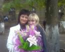 Я и мамочка с лилиями!))