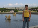 Сын Коля. Петродворец 2006