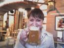 вот такой у меня большой бокал пивааааа....