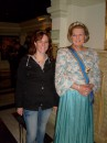 Queen Beatrix and me :)) ( Madame Tusseauds )