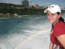 радуга, рожденная Ниагарским водопадом