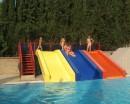 А это маленький бассейн и его маленькие горки))