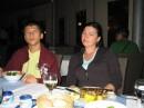 Я с мамой.Хаваю в греческом ресторане