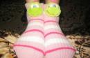 Развела маму на новые носочки