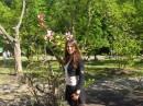 В ботаническом саду!