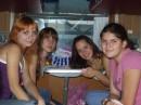 А это мы уже в поезде на Киев.