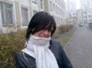 перший сніг...,))нарешті...))