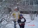 Я и мой сынишка