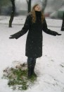 первый снег и  кусочек осени...