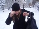 Первый снег - первые синяки!!!))))
