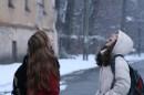 Снежок!!! Ням,ням...))