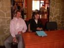 Я с Танюшкой на перерыве семинара