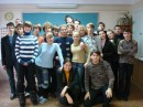 Это мой 11А класс в лицее)))) Мы учимся, а вот иногда и на фотосессию отвлекаемся))))