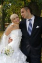 Неужели это была я, до сих пор не верится что свадебное платье я не только одевала, но еще и запачкала голубцами на гулянке... хм