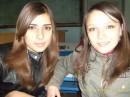 На парах) я и Маринка)