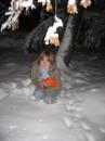 я валяюся в снігу