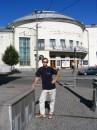 Возле музыкального центра, к которому никакого отношения не имею :)