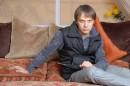 плюфлипиг или мальчег с зонтегом или как хорошо на мяхком диване))) by pХОТographer