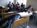 Вот так мы спим на лекции