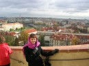 Прага как на ладони.