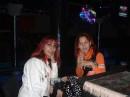 С Инночкой в русском ночном клубе. Вильнюс. октябрь 2004г.
