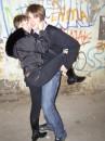 Я с Жекой на курилке)))