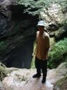 Пещера Большой Бузулюк. 80 м глубина. Там внизу минусовая температура и лед, я туда спускался :)