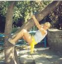 Я на дереве вишу...
