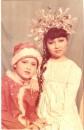 Я с братом)))Снегурка и Новый Год))