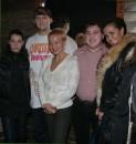 Моя сестра с ними ,а я фотографировала :)