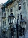Фонарь и старый дом, Дерибасовская. Одесса