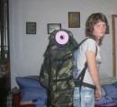 Я и рюкзачок маленький такой