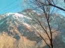 кавказский хребет недалеко от Казбеги