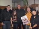 На концерті з охоронцями, Олею(в центрі) та Дімою