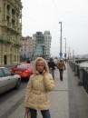 """За мной - """"танцующий дом"""" в Праге"""