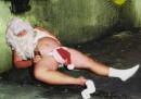 Если в ночь на Новый год, странный гость к тебе придет- кто-то с белой бородой, в красной шапке меховой, с длинным посохом в руке и с подарками в мешке, с громким смехом, с добрым взглядом - значит больше пить не надо)))) ВСЕХ С НОВЫМ ГОДОМ:р:р:р