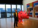 Логово маньяков - розовый носорог