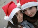 ДУРЧОКИ-СНЕГУРОЧКИ Ы) я с сестрой