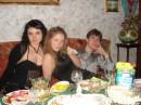 за столом, пили но мало!! :))))