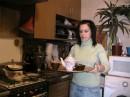 люблю готовить, хотя это было зделано на камеру