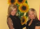 я слева,а подружка справа.она младше меня на15 лет.вы поверите?я да.