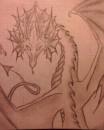 плоховато нарисовано... я знаю... но я люблю драконов)