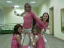 Примерка костюмов, за день перед выступлением в «Микс-Пати» шоу-балета «Бродвей»!